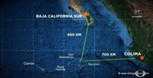 Mapa de isla socorro
