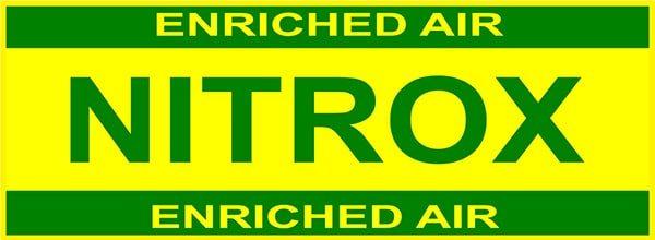 Etiqueta de Nitrox