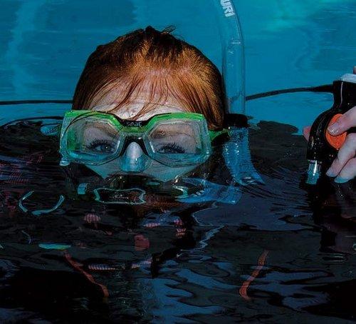 Test de flotabilidad previo al buceo
