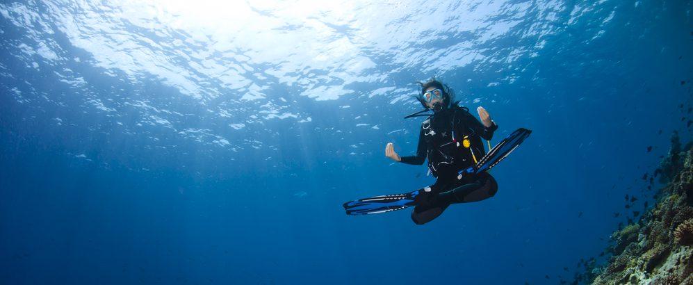 Una flotabilidad perfecta ayudará a mejorar nuestro consumo de aire mientras buceamos