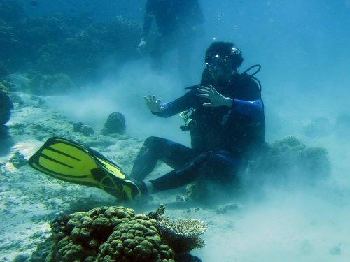 La flotabilidad evitará que destroces el fondo marino