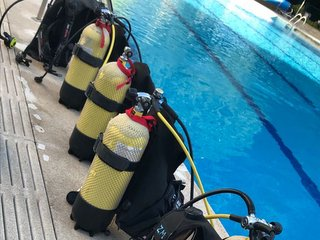 Botellas de submarinismo de acero