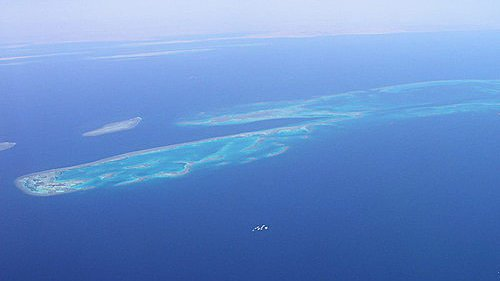 Arrecifes de la ruta Norte del Mar rojo