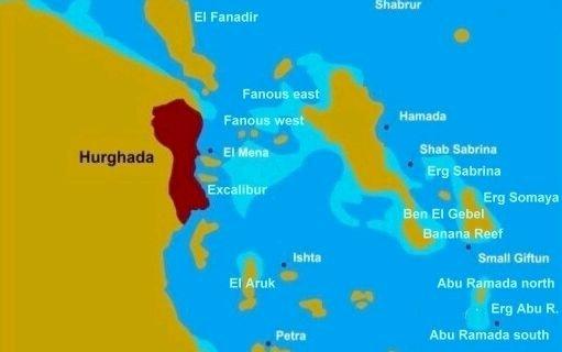 Buceos cerca de Hurghada. Mar Rojo Norte