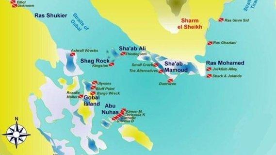 Ruta Norte Mar Rojo. Islas de Gubal